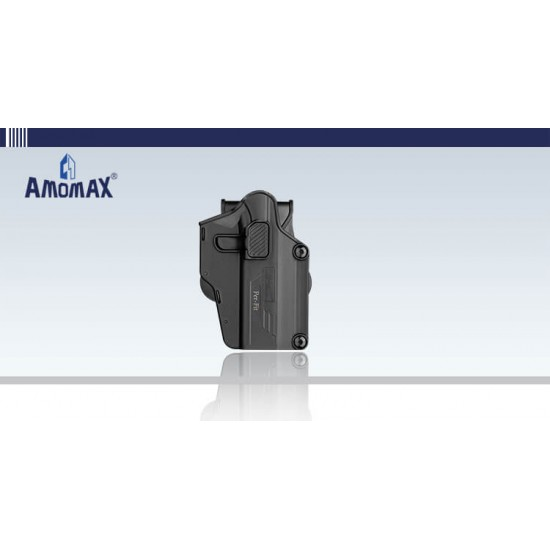 Amomax Polymer Pre-Fit Holster