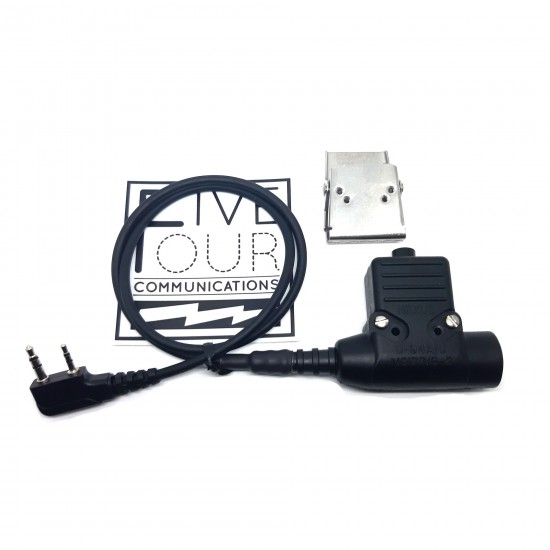 Real Nexus U94 Non Amplified PTT with Kenwood Connector for J11 nato plug