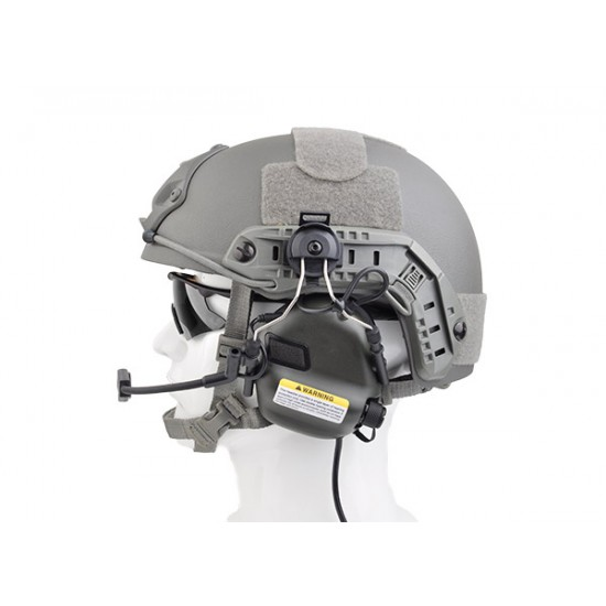 OPSMEN Earmor M32H Tactical Headset MOD1 for Fast Helmet - Grey