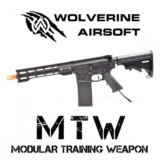 Wolverine Airsoft Modular Training Weapon (MTW) HPA Gen2 Inferno 10.3 inch!