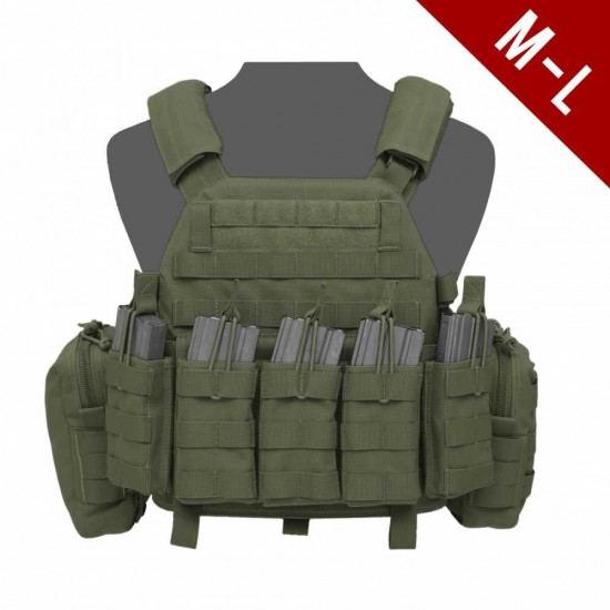 Warrior Assault Systems DCS Base Large With Pouches OD